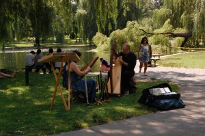 Live music in the Public Gardens