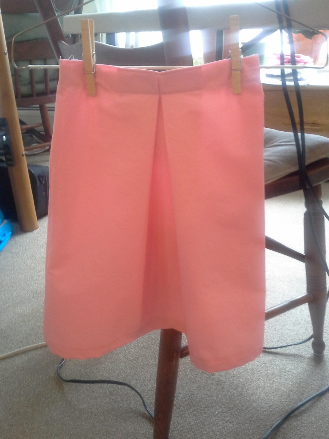 And a pink skirt for Joy's Easter basket.